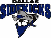 Dallas Sidekicks new logo, 1993-2002