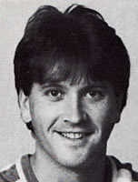Wes McLeod, 1985-86 media guide photo
