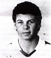 Jeff Rogers, photo from a 1986 game program.\