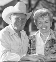 Don and Linda Carter, 1997 media guide photo